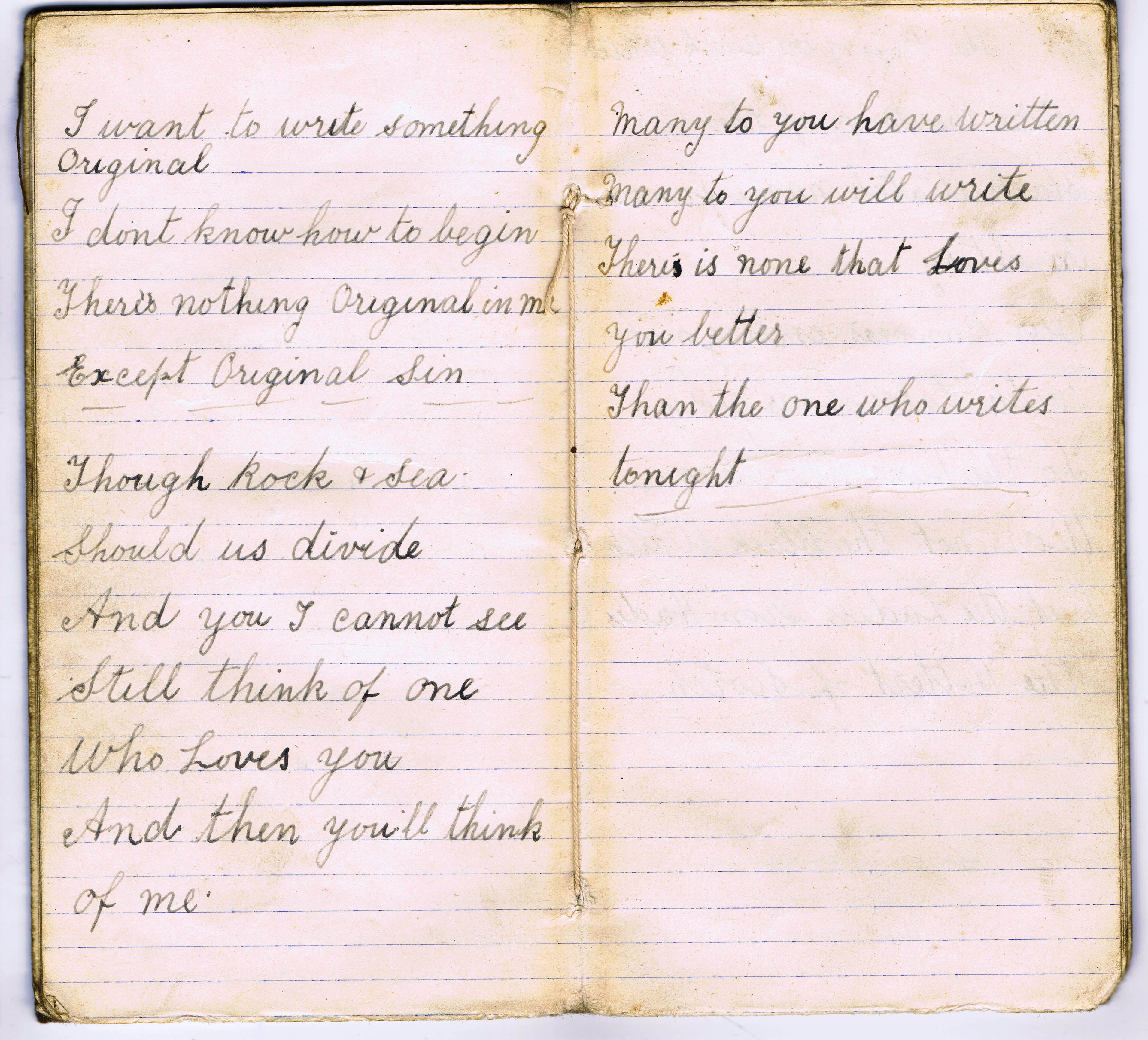 Love poem from a First World War Soldier - theblackwatch co uk