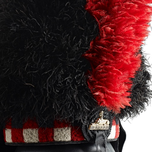 The Black Watch Castle and Museum - Donations and Sponsorship. Picture of the Regimental cap with Red Hackle and Egypt badge.
