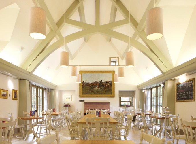 he Castle Cafe at the Black Watch Museum. Picture of the Cafe and its vaulted ceiling