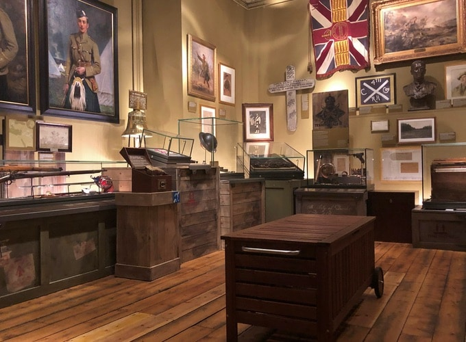 The Black Watch Castle and Museum First World War Gallery