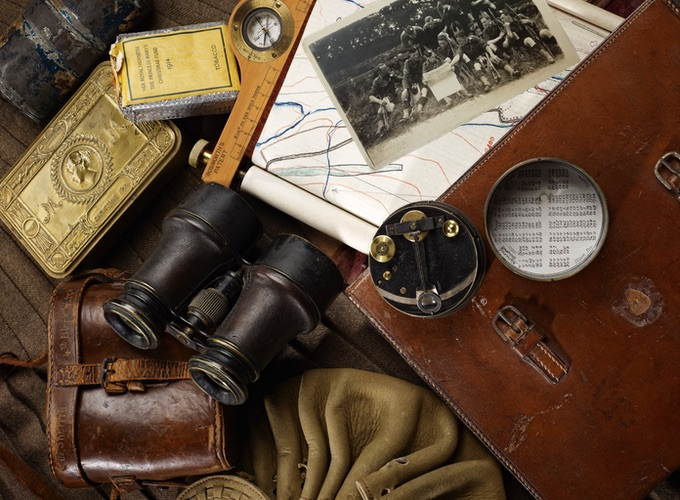 Objects and Artefacts Owned and Carried by Soldiers of The Black Watch - WW2 Era