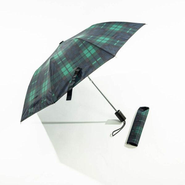 The Black Watch Castle and Museum Shop - Black Watch Tartan folding umberella.