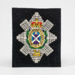 The Black Watch Castle and Museum Shop - Blazer Badge - Navy