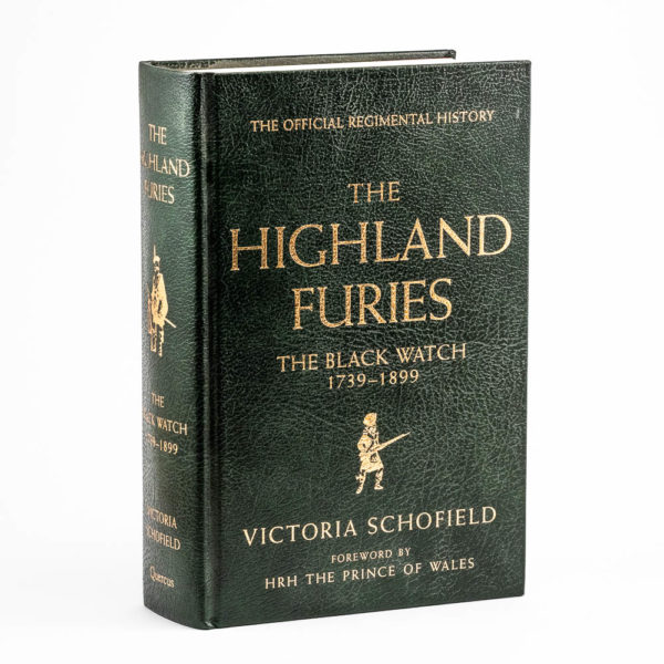 The Black Watch Castle and Museum Shop - highland furies leather edition book.                                                                          -