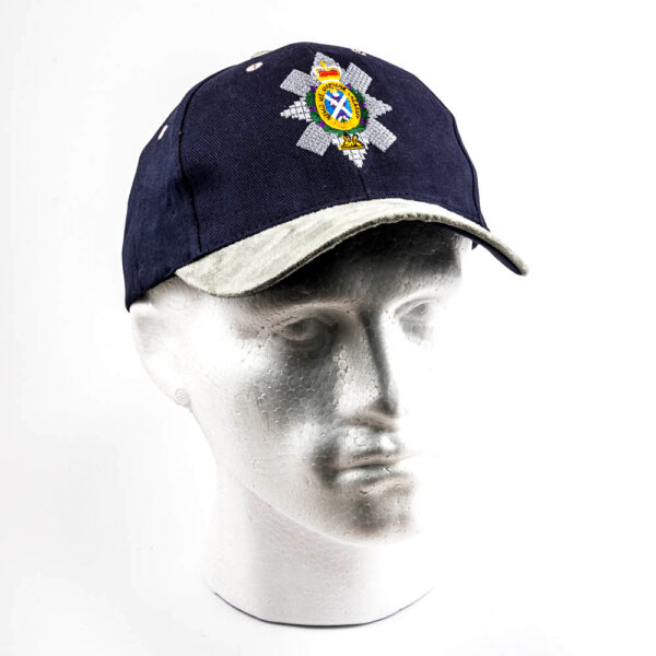 The Black Watch Castle and Museum Shop - Cap with Black watch Badge - Navy