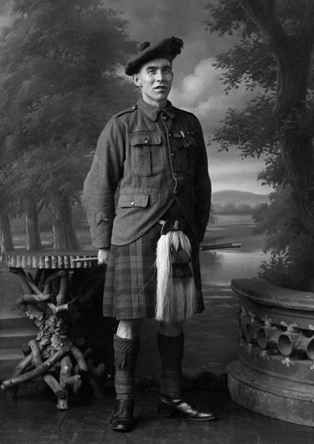 Victoria Cross Recipient of The Black Watch - Charles Melvin