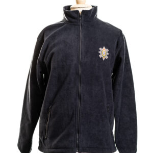 The Black Watch Castle and Museum Shop - Fleece with Black Watch badge  - Navy