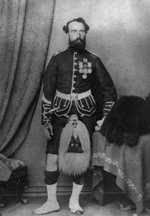 Victoria Cross Recipient of The Black Watch - James Davis
