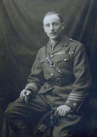 Victoria Cross Recipient of The Black Watch - Lewis Pugh Evans