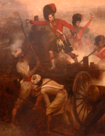 Painting of The Indian Mutiny