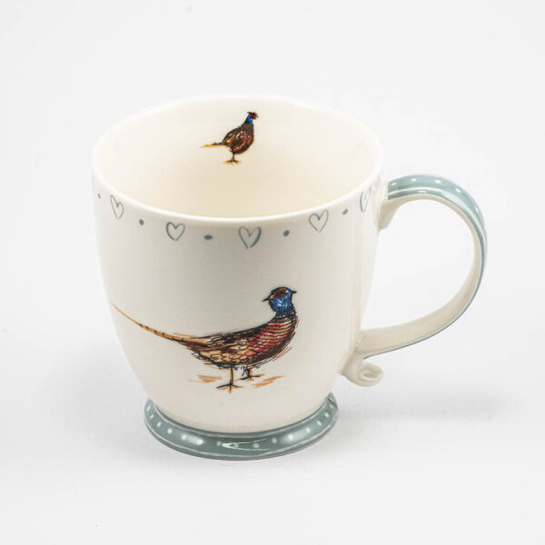 The Black Watch Castle and Museum Shop - Pheasant mug.