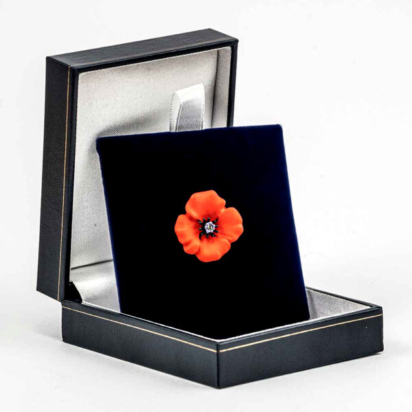 The Black Watch Castle and Museum Shop - Poppy Brooch - small.