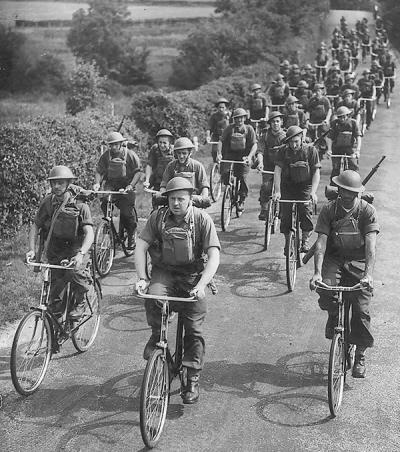 Soldiers of the Black Watch after evacuation from Dunkirk the 6th Battalion was deployed in the defence of the Isle of Wight.