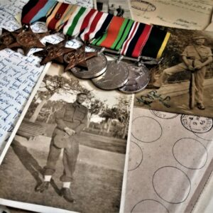 letters, medals and photographs from The Black Watch Museum archive