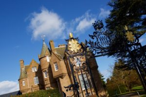 outdoor view of balhousie castle in perth