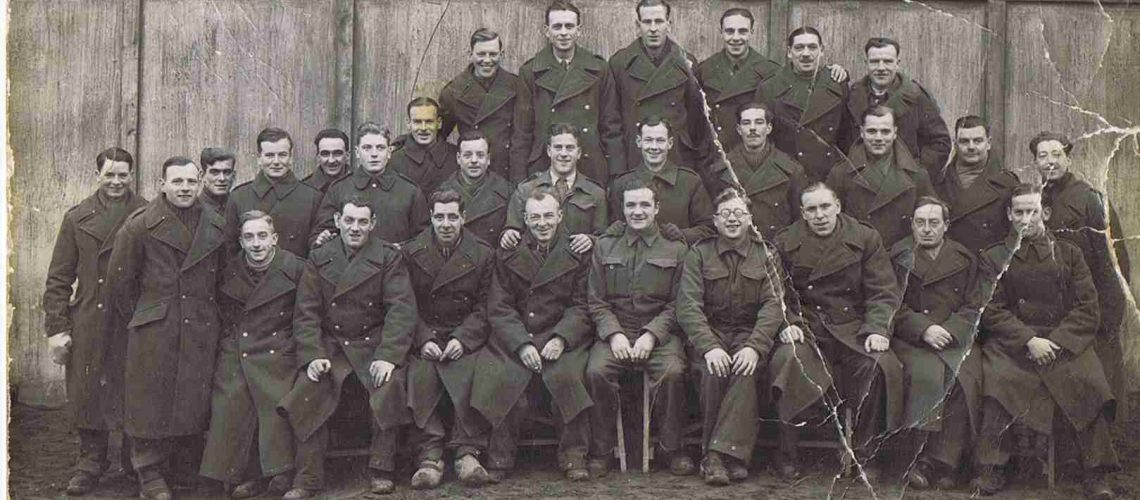 POW soldiers including members of The Black Watch captured at St Valery