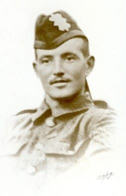 Image of Black Watch soldier David Finlay who was awarded a VC for bravery during WW1